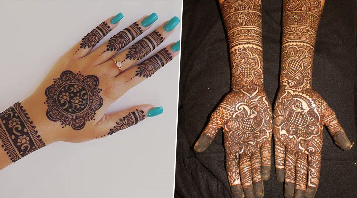 Vat Savitri Puja 2020 Simple Mehndi Designs From Arabic To Indian Latest Henna Pattern Images And Tutorials For Vat Purnima Festival Watch Videos Latestly