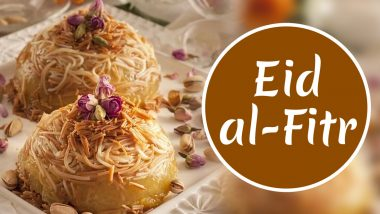 Eid 2020 Dessert Recipe Videos: From Sheer Khurma to Phirni, Traditional Sweet Dishes You Can Make at Home and Wish Eid al-Fitr Mubarak!