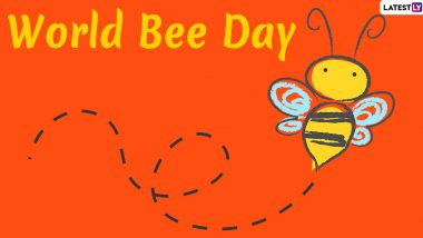 World Bee Day 2020 Quotes and Saying: 'Bee'autiful Images, Greetings and Wishes to Celebrate the Day Dedicated to Pollination