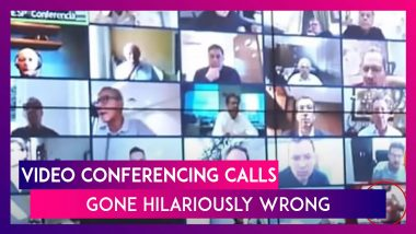 Video Of Naked Man On Zoom Call With Brazilian President Goes Viral & Other Funny Conference Calls