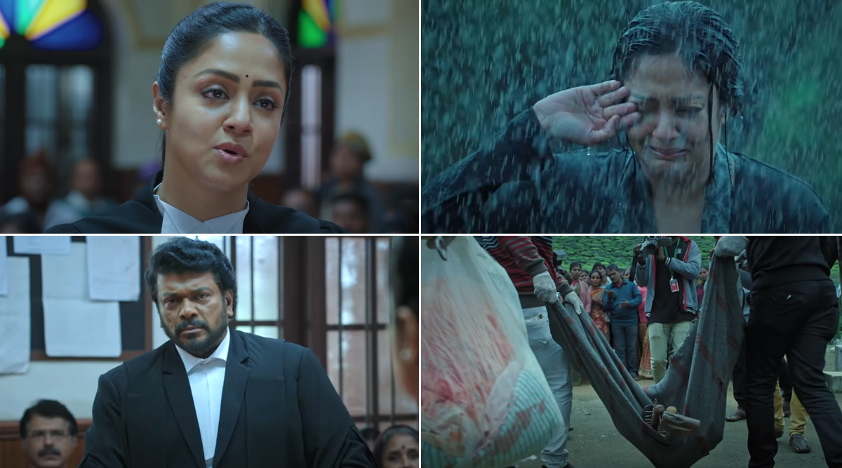 Ponmagal Vandhal Trailer: Jyotika's Relentless Lawyer Fights For Justice in a Complicated Case in This Intriguing Courtroom Drama (Watch Video)