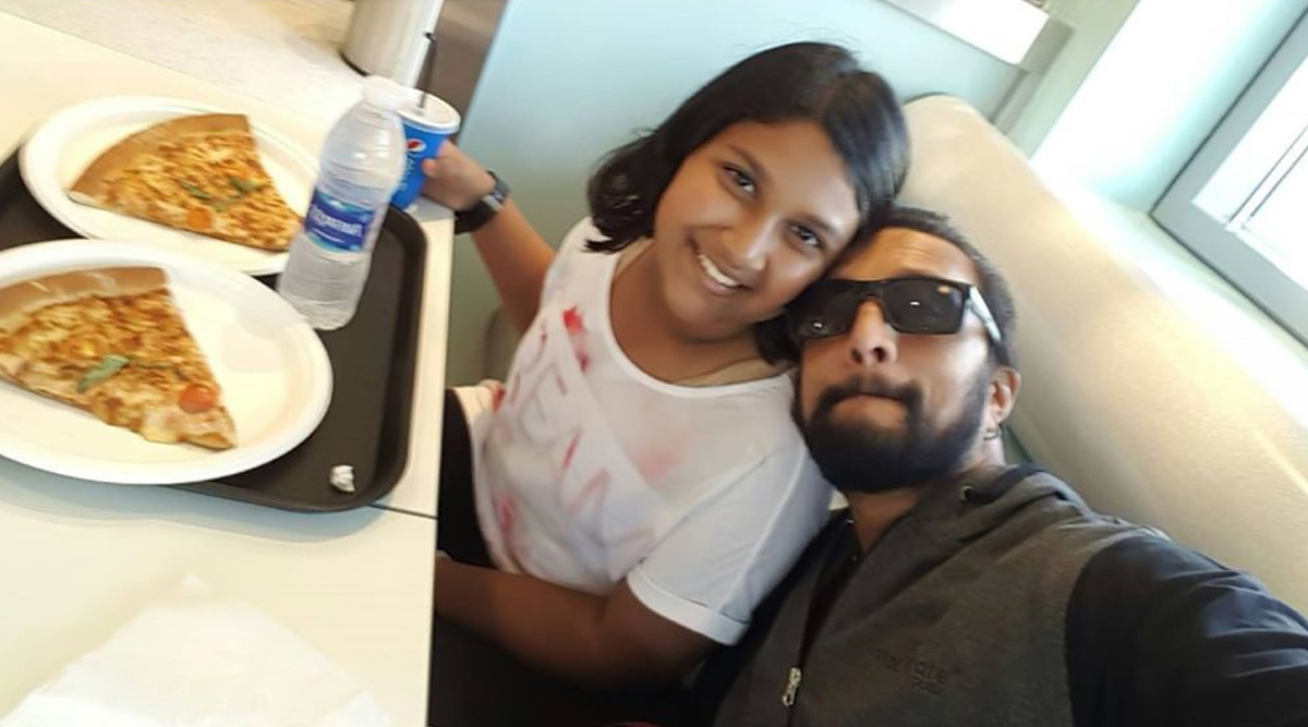 Kichcha Sudeep Shares Adorable Collage with Daughter Sanvi on Her 16th Birthday