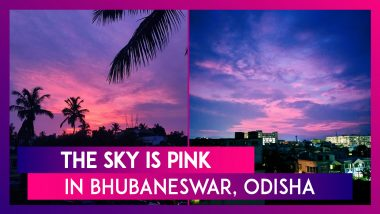 Bhubaneswar Sky Looks Mesmerising In Purple & Pink After Cyclone Amphan Passes Over Odisha