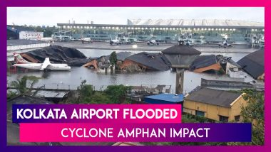 Operations Resume At Kolkata Airport After Cyclone Amphan Leaves Runway Flooded, Hangers Damaged