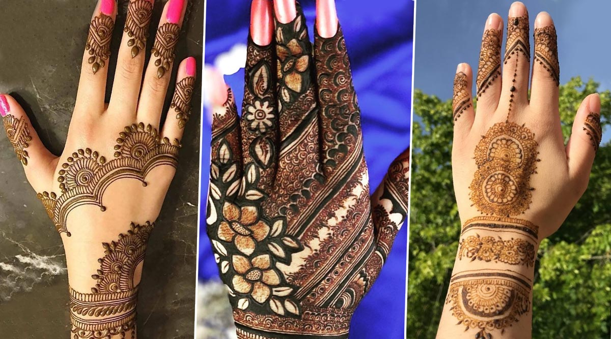 Eid Al Fitr 2020 Mehndi Designs Latest Arabic And Indian Mehendi Patterns You Can Try At Home From Minimal To Full Hand Check Out Style Inspiration Tutorial Videos And Images Latestly