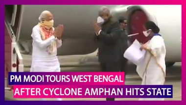 PM Narendra Modi Tours West Bengal & Odisha After Cyclone Amphan Causes Mass Devastation