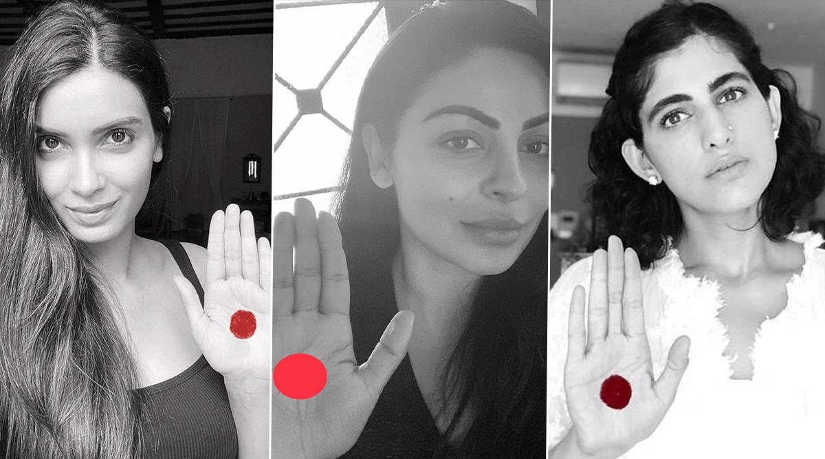 Red Dot Challenge: Diana Penty, Kubbra Sait, Neeru Bajwa Campaign to Stop Period Shaming for Menstrual Hygiene Day