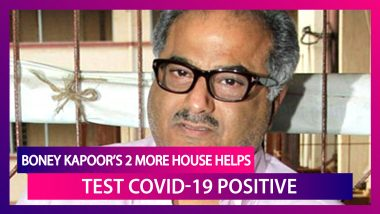 Two More House Helps At Boney Kapoor's Residence Test Positive For The Deadly Coronavirus