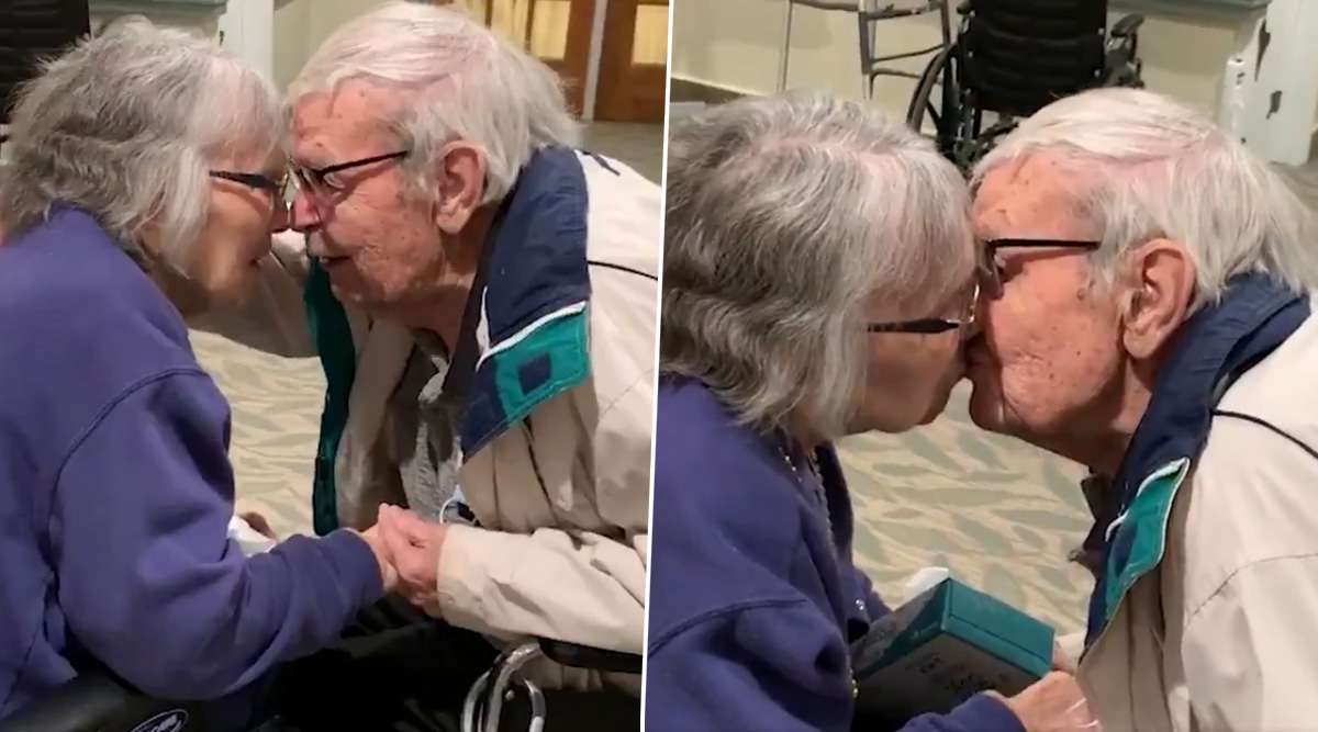 Heart-melting Video of Elderly New York Couple Married for 70 Years Re-Uniting After Months of Being Apart Due to Coronavirus Is Making Netizens Emotional!