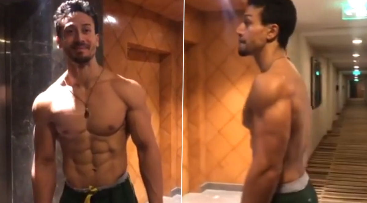 Tiger Shroff Wants to Walk Outta Quarantine Shirtless Like This (Watch Video)