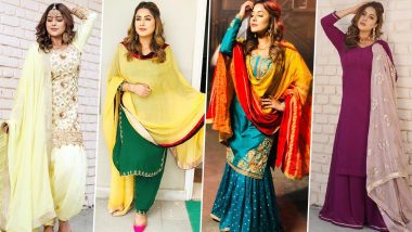 Eid 2020: Shehnaaz Gill Approved Outfits That You Can Flaunt While Celebrating Eid al-Fitr With Family (View Pics)