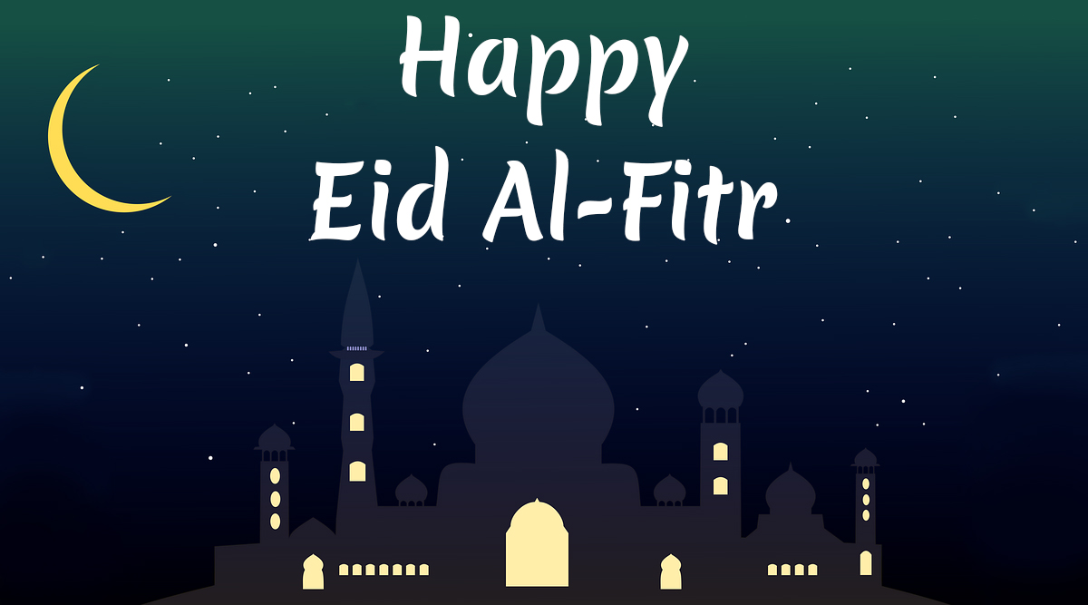 Eid Al-Fitr Chand Mubarak Wishes, Greetings, Quotes: Eid Mubarak Pictures, HD Images, GIFs and WhatsApp Stickers to Celebrate the End of Ramadan