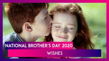 National Brother's Day 2020 Quotes: Beautiful Sayings & Images That Appreciate Bond of Brotherhood
