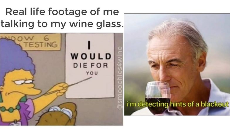 National Wine Day 2020 Funny Memes and Jokes: Red or White? NVM! Just LOL at These Hilarious Posts While You Sip Your Way to Getting Hammered Today!