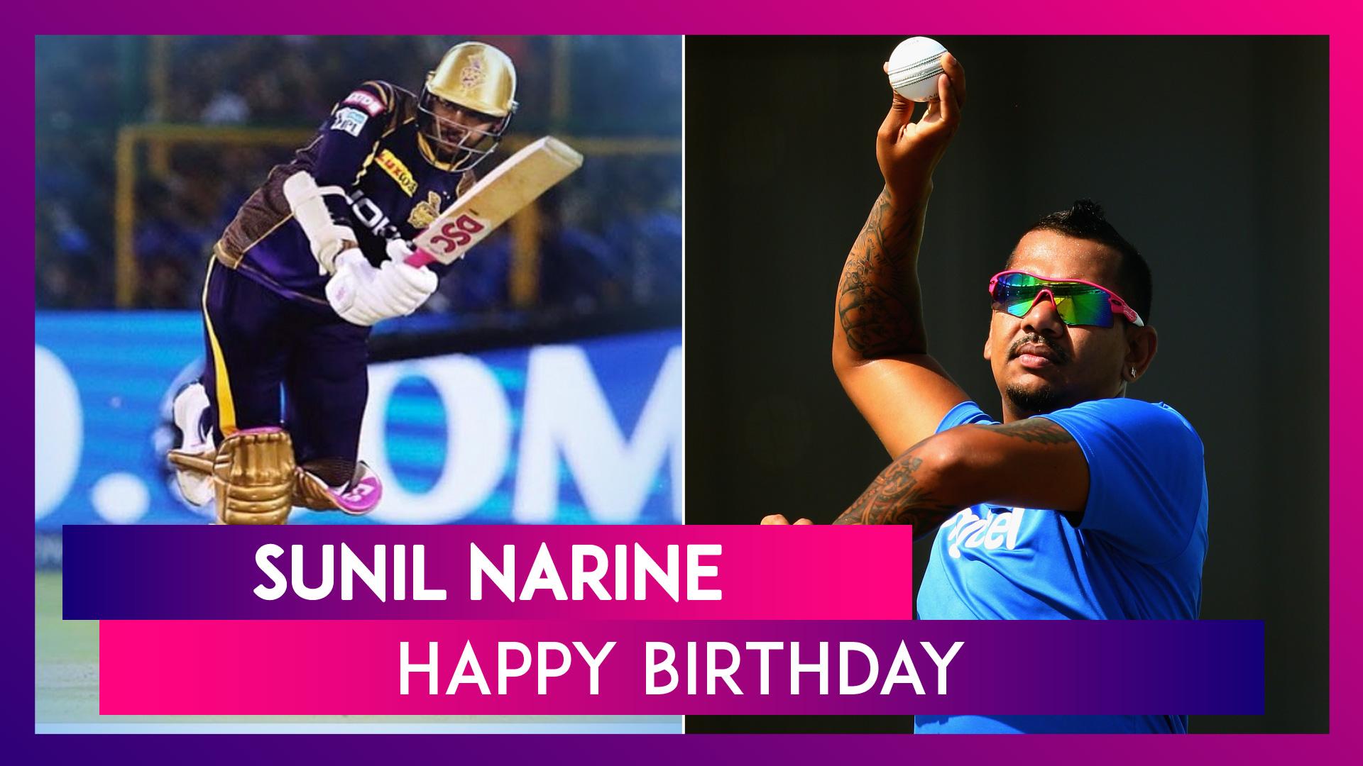 Happy Birthday Sunil Narine: 5 Best Performances Of KKR All-Rounder As He Turns 32