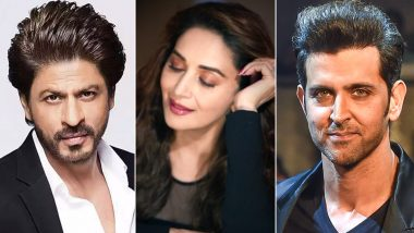 Shah Rukh Khan, Hrithik Roshan and Others Heap Praises on Madhuri Dixit's Debut Single, Candle (Read Tweets)