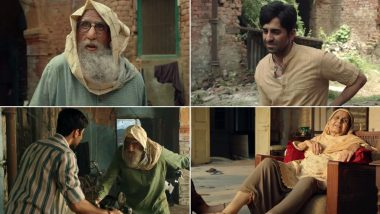 Gulabo Sitabo Song Jootam Phenk: Amitabh Bachchan and Ayushmann Khurrana's First Song Offers an Insight into their Chucklesome Camaraderie (Watch Video)