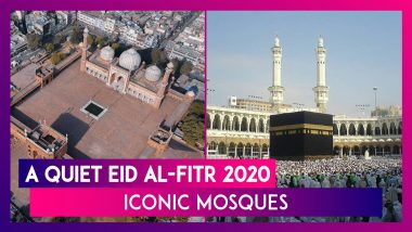 Iconic Mosques Were Empty On Eid ul-Fitr 2020 Due To Global Coronavirus Outbreak