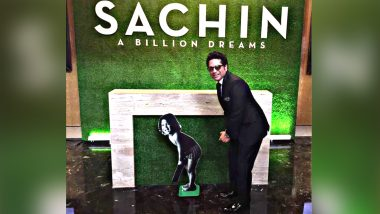 Sachin A Billion Dreams Clocks 3 Years: Sachin Tendulkar Calls It an Honest Film About His Cricket Journey, Says 'I'm Glad It Was Made'