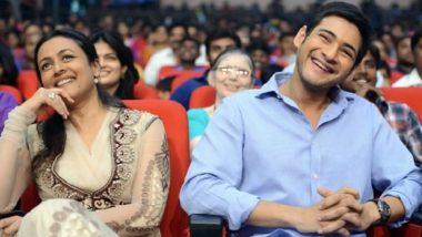 Mahesh Babu's Wife Namrata Shirodkar Is Impressed with Actor's Workout Dedication (Watch Video)