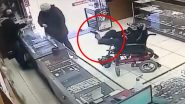 Deaf-Mute Teenager with Cerebral Palsy Attempts to Rob a Jewelry Shop in Brazil; Video of Him Holding a Fake Gun with His Leg in Wheelchair Goes Viral
