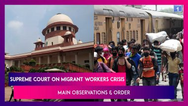 Supreme Court's Main Observations On The Migrant Worker Crisis: 9 Points