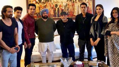 Sonu Sood's Relentless Work for Migrant Labourers Gets Lauded by Punjab CM Amarinder Singh