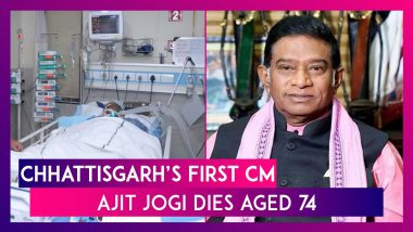 Ajit Jogi, Former Chhattisgarh Chief Minister Dies Aged 74; Was In Coma After Multiple Heart Attacks