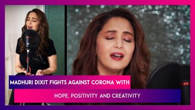 Madhuri Dixit on Corona Pandemic: We're Strong And We Will Overcome!