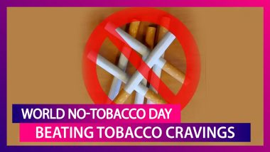 Easy Ways To Avoid Your Urge For Tobacco Products: World No-Tobacco Day 2020