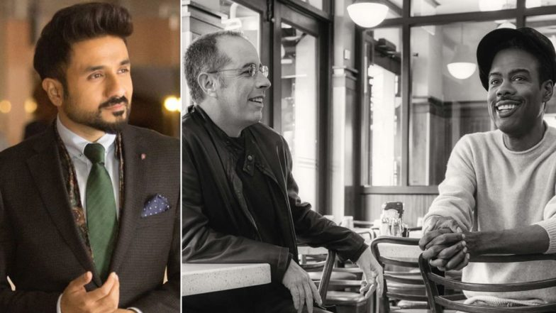 Vir Das Can't Keep Calm After Jerry Seinfeld Name-Drops Him While in Conversation with Chris Rock (View Tweet)