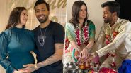 Hardik Pandya and Natasa Stankovic Announce Pregnancy With First Child; Did The Couple Get Married In Lockdown?