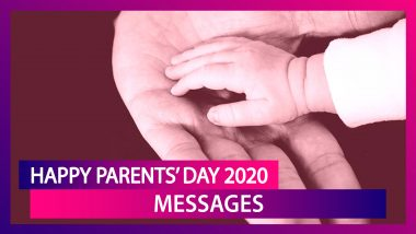 Happy Parents' Day 2020 Messages: Wishes, Greetings and Quotes to Share With Your Mother and Father