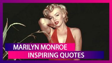 Marilyn Monroe's 94th Birth Anniversary: Inspiring Quotes on Life by the Iconic American Actress