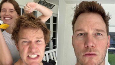 Chris Pratt Gets a Smooth Quarantine Haircut from Wife Katherine Schwarzenegger (View Pic)