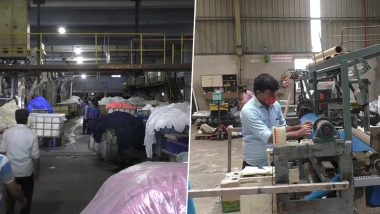 Dyeing Units in Surat Resume Operations With 25-30% Staff Amid Lockdown 4; Social Distancing Norms Followed