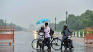 Delhi Rains: Pre-Monsoon Showers in Delhi-NCR Bring Respite From Heat, Netizens Share Pictures And Videos of Pleasant Weather