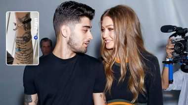 Zayn Malik's New Tattoo On Love and Marriage Has Fans Speculating His Proposal to Pregnant Girlfriend Gigi Hadid!