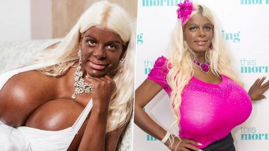 Martina Big With Huge 32T Boobs, Donates Old Bras to Make Coronavirus Masks, Says Her Giant Lingerie Can Make at Least 12 Face Masks Each