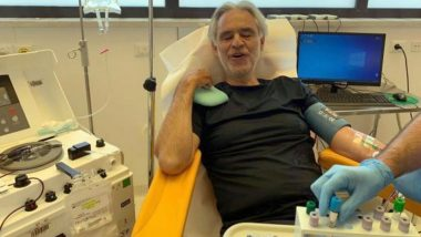 Andrea Bocelli Is a COVID-19 Survivor; Italian Musician Extends Support by Donating His Plasma