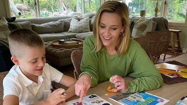 Reese Witherspoon's Latest Instagram Post Shows the Actress and Her Son Are 'Dreaming' Of a Trip to India! (View Pic)