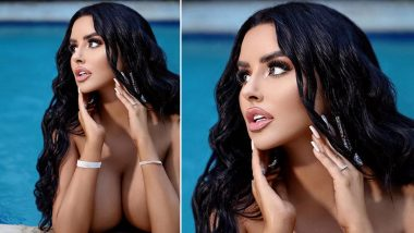 Naked Abigail Ratchford Puts up a Busty Display in Swimming Pool Giving Us Sizzling Summer Goals! Fans Go Crazy on Instagram