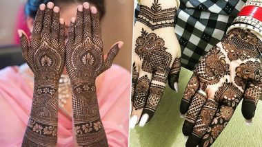 New 5-Minute Eid 2020 Mehndi Designs: Latest Arabic & Indian Mehendi Pattern Images and Videos to Take Inspiration from For Your Traditional Eid al-Fitr Look!