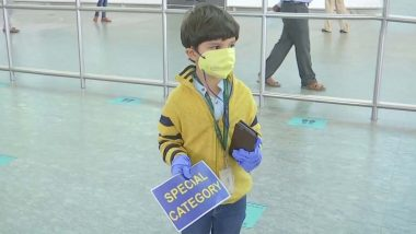 5-Year-Old Boy Travels Alone on Flight From Delhi to Bengaluru, Meets Mother After 3 Months; See Pics