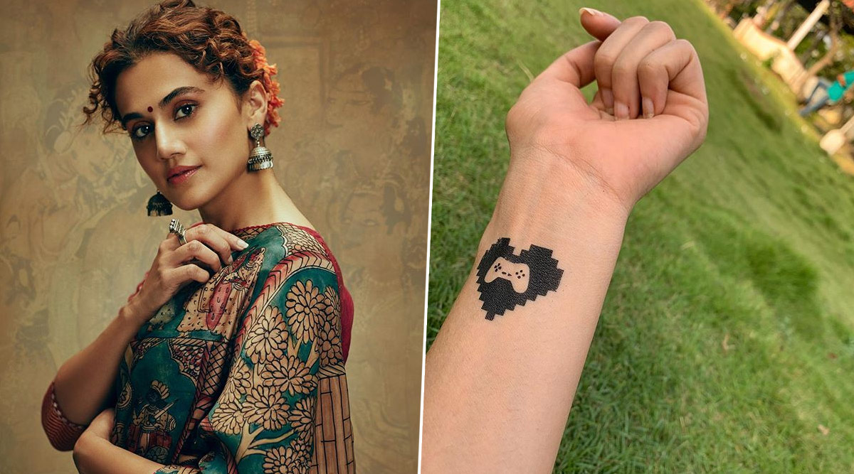 Taapsee Pannu Shares a Throwback Pic of Her 'Annoying Tattoo' from the Sets of Game Over