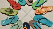 Sex With Flip Flops! Thai Foot Fetishist Steals and Has Sex With About 100 Pairs of Flip Flops Gets Arrested After He Admits to the Pilferage and Making Love to Footwear