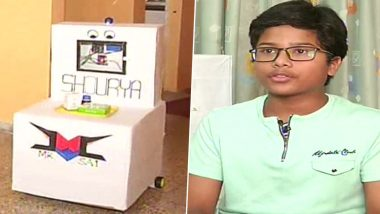Sai Suresh Rangdal, 7th Class Student From Aurangabad, Designs Robot For Contactless Delivery of Medicines to COVID-19 Patients