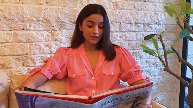 Alia Bhatt Is a Potterhead! Actress Reads Out a Chapter from 'Harry Potter and the Philosopher's Stone' (Watch Video)
