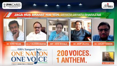 Asha Bhosle, Sonu Nigam Among 200 Singers Create an Anthem with Sentiment of Togetherness in 14 Languages
