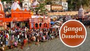 Ganga Dussehra 2020: Benefits of Ganga Jal That Can Bring in Good Luck! From Ganga Mantra to Puja Vidhi, 4 Ways This Auspicious Festival Will Fill Your Life With Positivity